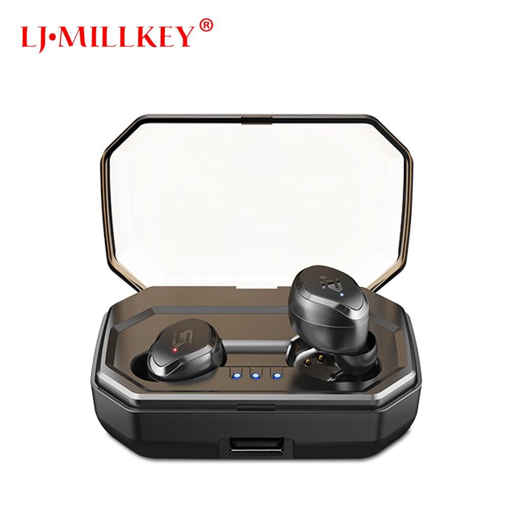 Controle de toque TWS Fone De Ouvido Bluetooth Estéreo Música fone de Ouvido Tipo V5.0 YZ209 IPX7 Verdadeiro Fones de Ouvido Sem Fio À Prova D' Água com caixa de Carga