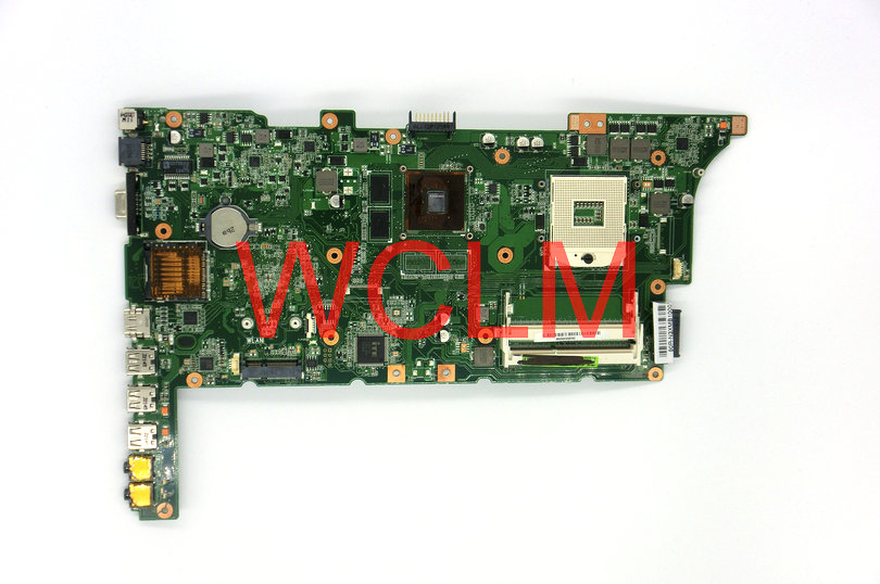 все цены на  free shipping NEW original K73S K73SJ laptop motherboard MAIN BOARD mainboard N13M-GE5-B-A1 GT520M graphics 100% Tested Working  онлайн