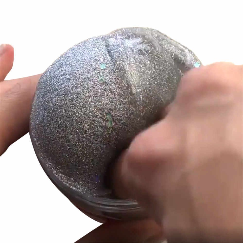 DIY Clear Slime Toys Galaxy Charming Sliver Cloud Colorful Slime Antistress Putty Clay Scented Stress Kids Clay Toy Dropshipping