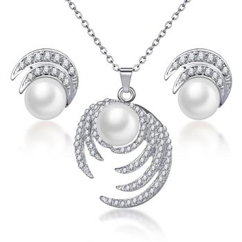 Women's Vintage Pearl Imitation Jewelry Set Jewelry Jewelry Sets Women Jewelry Metal Color: F1128