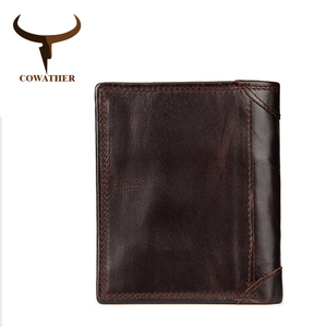COWATHER fashion cow leather m
