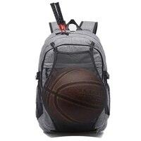 Sport Backpack Men Laptop Backpack Fitness Bag For Teenager Boys Soccer Ball Pack Bag Gym Bags Male Basketball Net