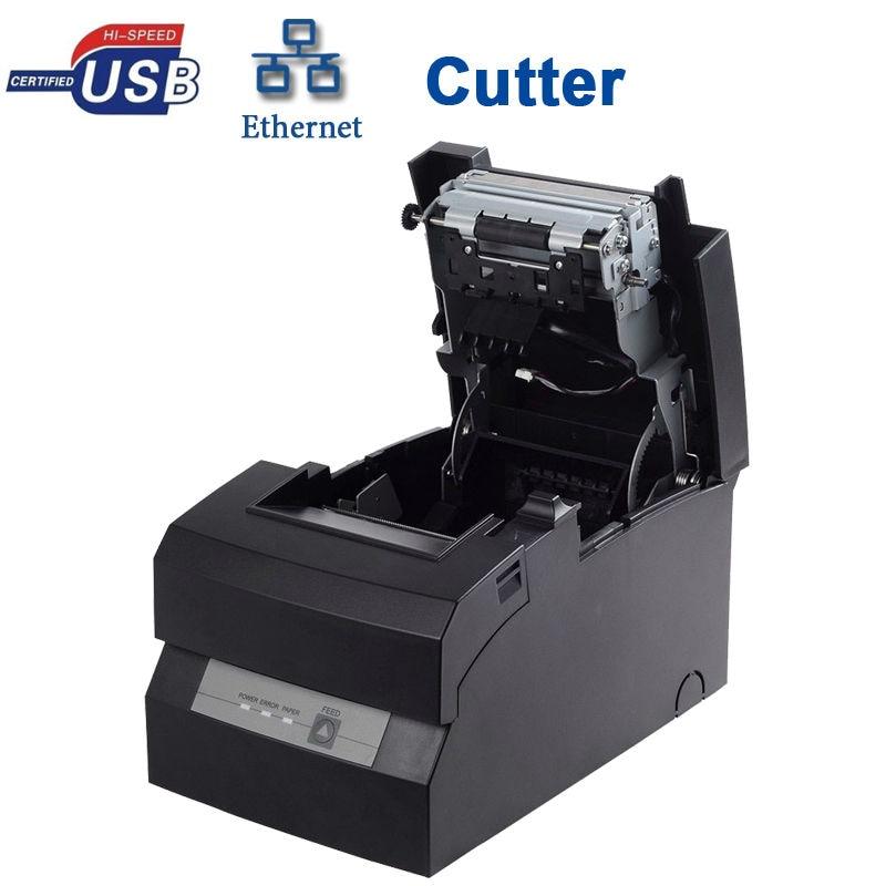 POS DOT MATRIX USB SERIAL LAN PORT PRINTER HS-D76USLC