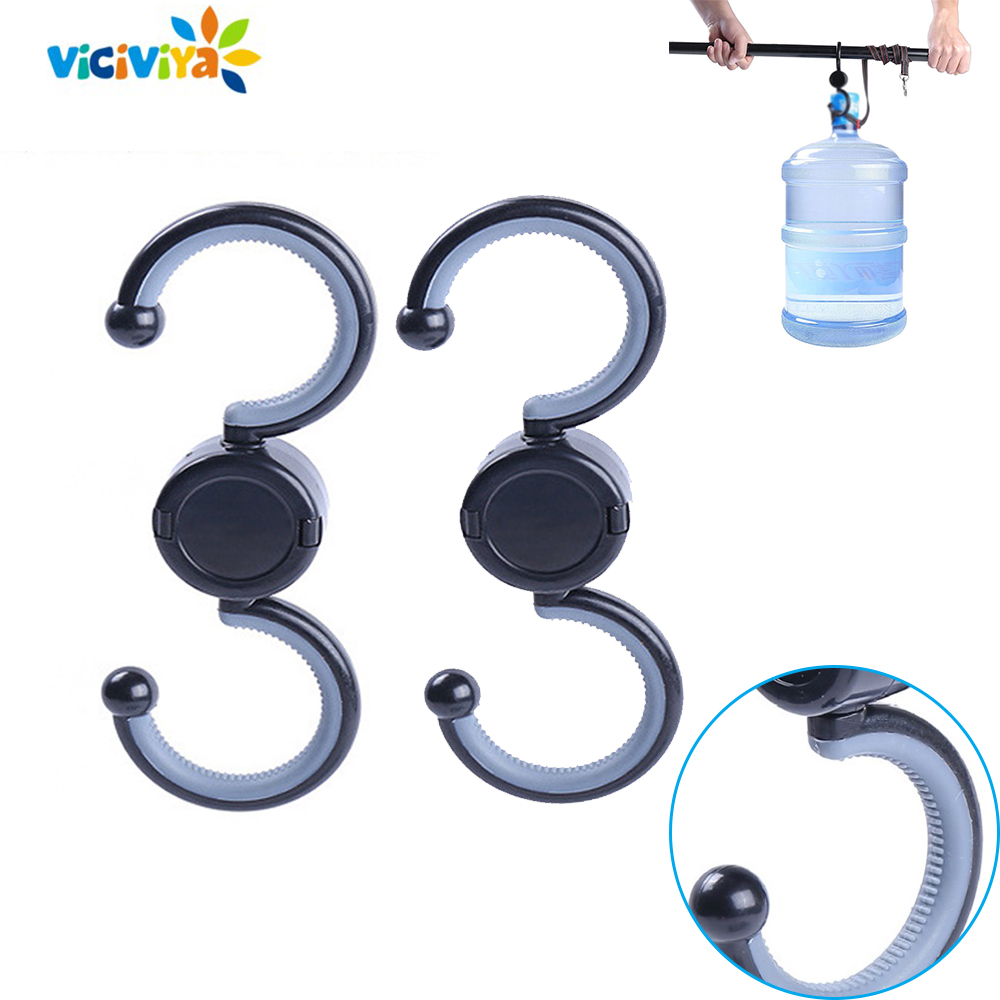 New 2pcs Universal Baby Stroller Hooks For Stroller Baby Cart Hook For Stroller Storage Bag Hanger For Baby Pushchair Accessory