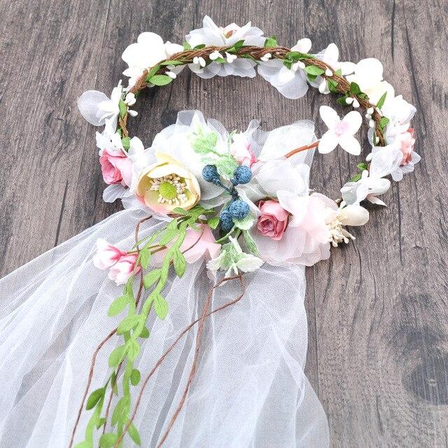 aliexpress koop de nieuwe bruid hoofdtooi sluier koreaanse