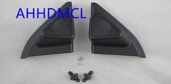Głośnik samochodowy montaż głośników pudełka Audio drzwi kąt gumy do Corolla Levin 2014 2015 2016 2017 2018 tanie i dobre opinie AHHDMCL 0 2kg Car audio door angle gum tweeter refitting Skrzynek głośnikowych ABS+PC+Metal Black