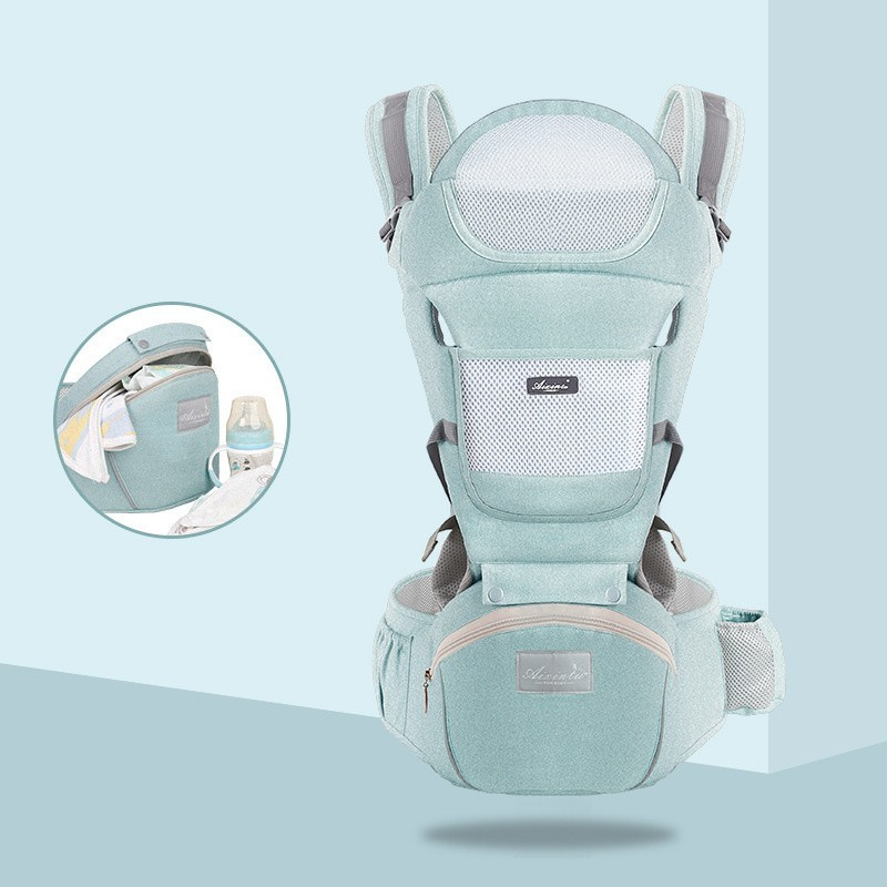 Ergonomic new born Baby Carrier Infant Kids Backpack Hipseat Sling Front Facing Kangaroo Baby Wrap for Baby Travel 0-36 months 6