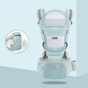 Image 5 - ארגונומי חדש נולד תינוק מנשא ילדים תרמיל Hipseat קלע חזית מול קנגורו תינוק לעטוף עבור תינוק נסיעות 0 36 חודשים
