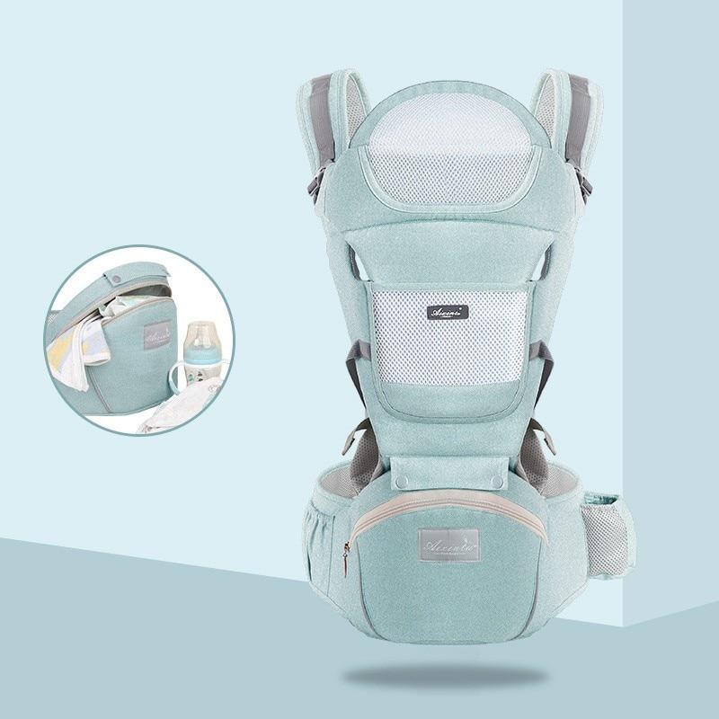Porte-bébé ergonomique pour bébé façon kangourou