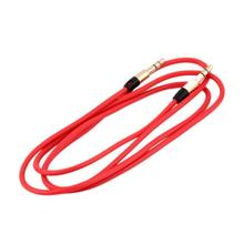 2pcs Auxiliary CORD 3.5mm AUX  Male to Male Stereo Audio Cable for PC for iPod MP3 CAR Wholesale