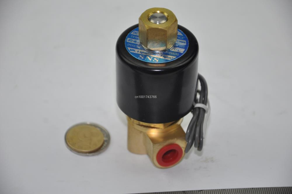 Electric Solenoid Valve Water Air electrical magnetic N/O 12V DC 1/4 2WK025-08 стоимость