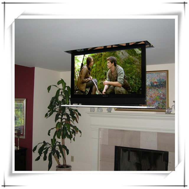 Newest Smaller Linear Actuator Tv Lift Cabinet For Flat Screen S Up To 46