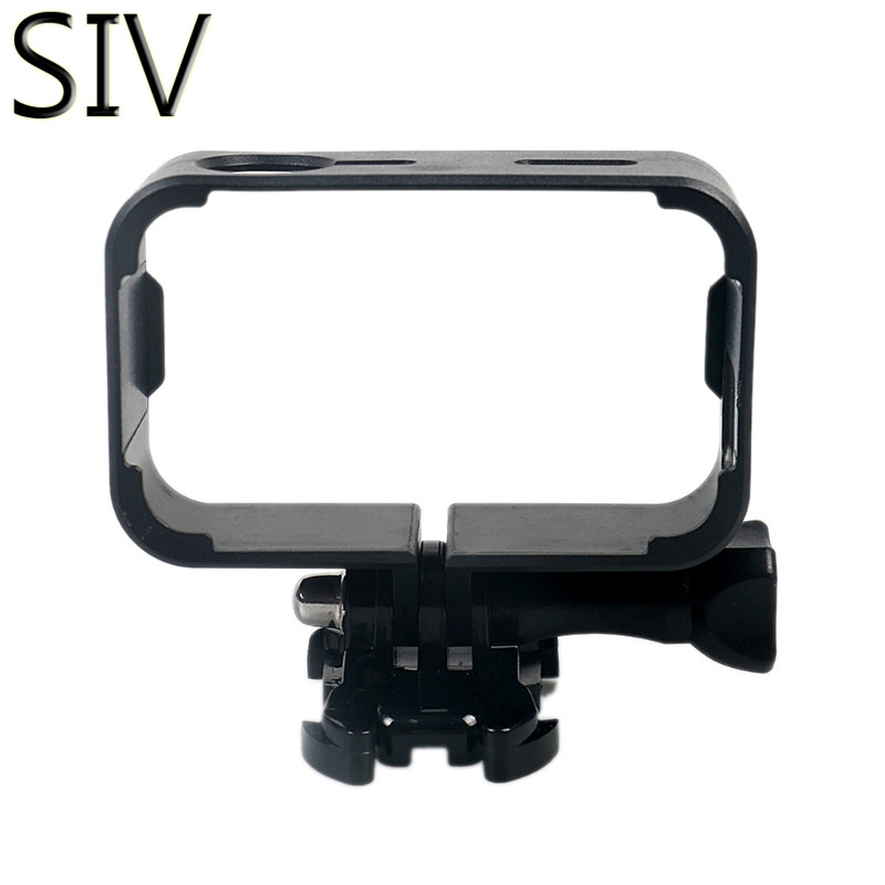 SIV Camera Case Protective Frame Mount Case Cover Housing For Xiaomi Mijia Mini 4k Sport Camera