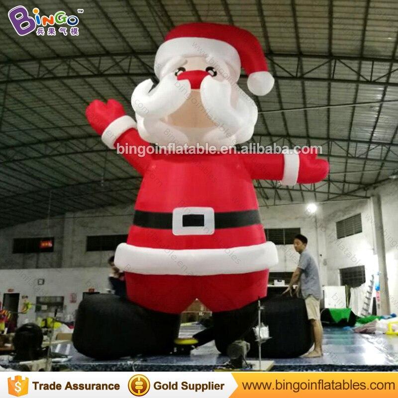 cheap oxford fabric 5M high Inflatable Santa Claus-inflatable toycheap oxford fabric 5M high Inflatable Santa Claus-inflatable toy