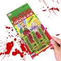 Safety Halloween Gifts Trick Joke Electric Toys Chewing Gum Pull Head Practical Jokes Fantastic for Fun Event Party Supplies