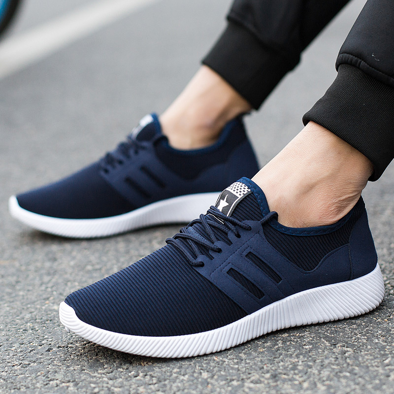 2018 summer casual men shoes British feet breathable sneakers Korean - Men's Shoes