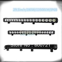 1 pc 10w leds DC10 30V 30inch 300w single row 180W led light bar for Pickup Wagon UTB Cab ATV SUV