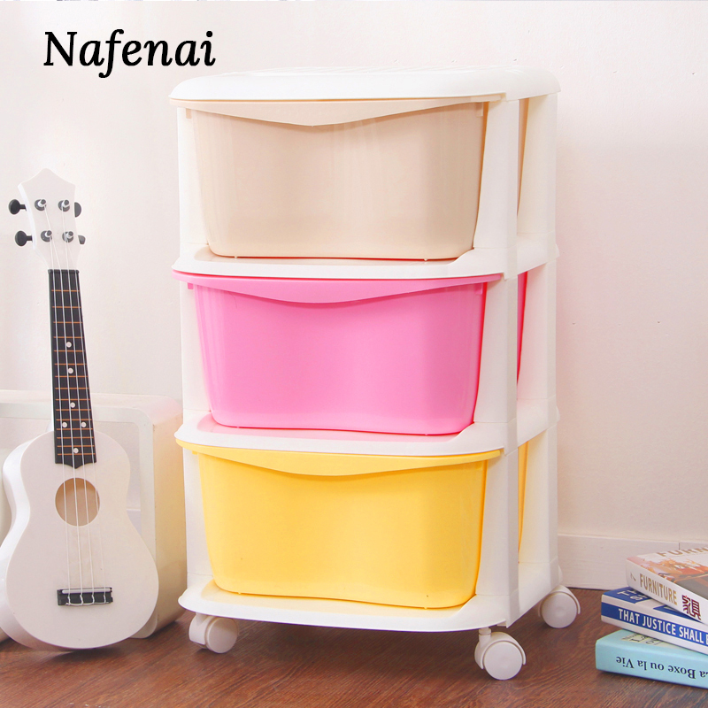 Plastic Storage Drawers For Kitchen Large Space Chest Of Drawers Organizer Storage Box For Clothes And Children'S Toys And Food