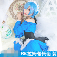 Christmas New Dress Cosplay Re Life In A Different World From Zero Rem And Ram Anime