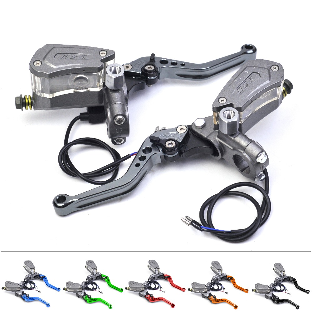Motorbike Brake Lever Master Cylinder Hydraulic Clutch Disc Brake Universal 7/8 22mm for Honda Yahamha Suzuki Vespa Front Rear tektro 300 hydraulic disc brake