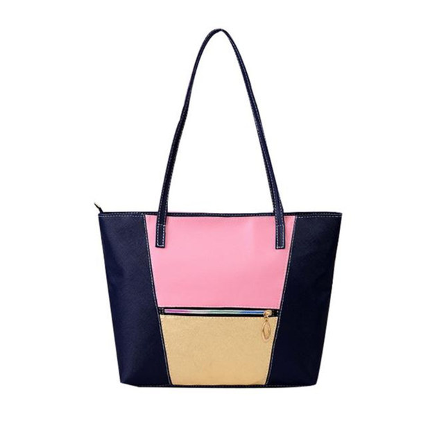 982ec08b1dc7 2017 Most Popular New Simple Fashion Handbags Large Women Bags Solid PU  Leather Shoulder Tote Bags High Quality Wholesale A8