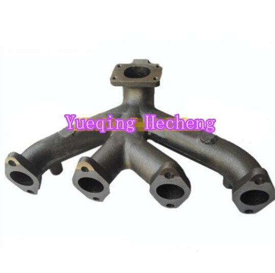 все цены на New 4 Cylinders Diesel Engine Exhaust Manifold 4939973 4939972 онлайн