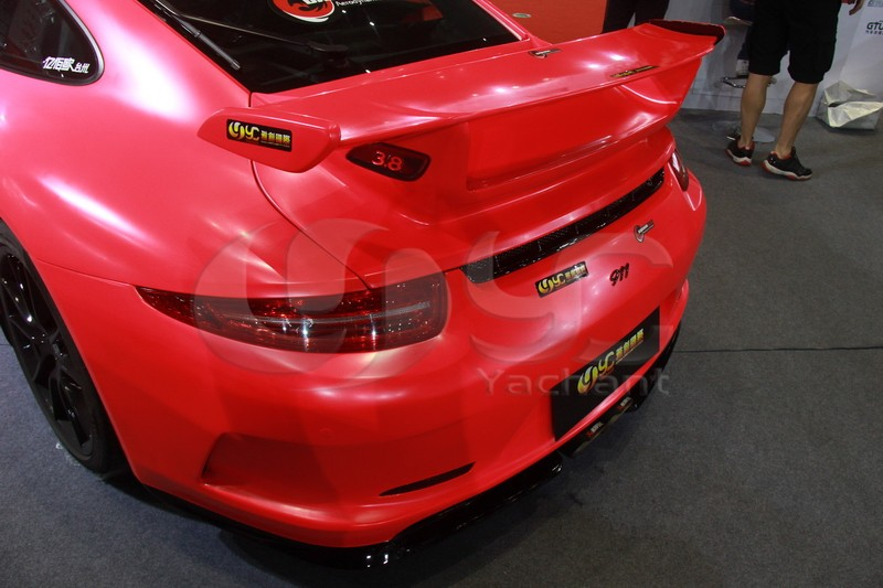 2012-2014 Porsche 911 991 Carrera & Carrera S GT3-RS Style Rear Trunk with GT Wing Spoiler FRP (14)