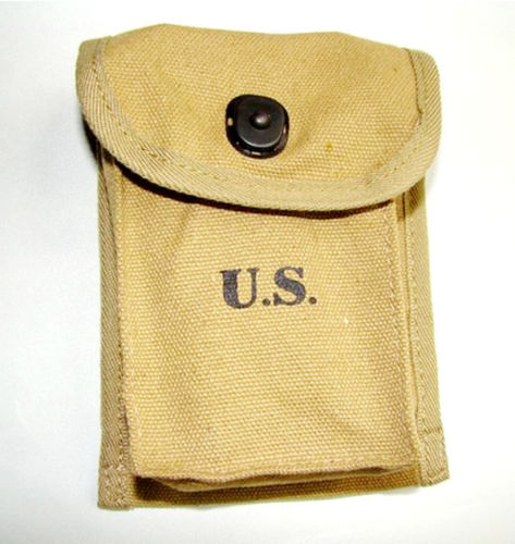 Wwii Us Magazine Hand Grenade Ammunition Pouch Pocket - World Military Store Delaying Senility