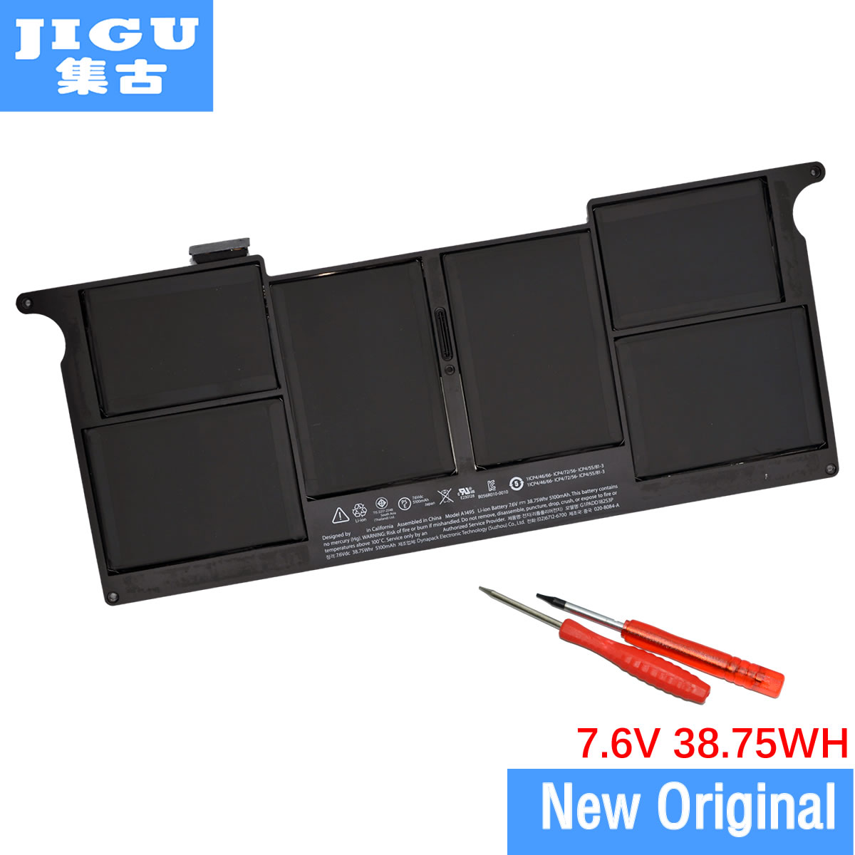JIGU A1495 Original Laptop <font><b>Batterie</b></font> Für APPLE für <font><b>MacBook</b></font> <font><b>Air</b></font> <font><b>11</b></font>
