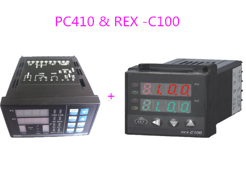PC410 with RS232 Communication Module & REX-C100 Tempereature Controller For IR6000 BGA Rework Station bga reballing kits for ir6000 bga rework station pc410 original omega wire tm 902c thermocouple wire