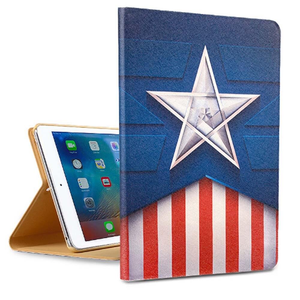 все цены на Case for Apple iPad Air 1 Silk protective holster ultra-thin sleep Cartoo case for iPad 6 Case cute Cartoon 3 PCS Gifts онлайн