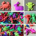 10pcs/lot Resin expanded drainage animal baby grow summer selling small toys become bigger 5cm