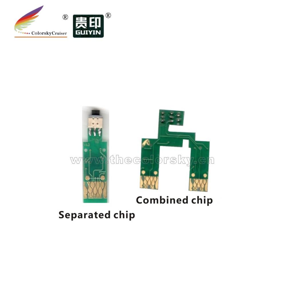ARC-E-T1371R) Микросхема автоматического сброса ARC Картридж струйный чип для Epson T1371 T137 T 137 bk c K100 K200 V6.2 FedEx