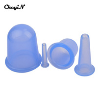 4Pcs Set Health Care Anti Cellulite Silicone Vacuum Massage Cupping Cup