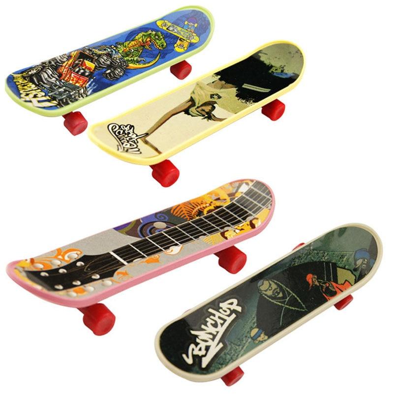 10 Teile/satz Kunststoff Professionelle Griffbrett Spielzeug Mini Finger Skateboard Finger Skateboard Spielzeug Für Kinder Geschenk