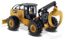 Diecast Toy Model DM 1/50 Scale Caterpillar Cat 555D Wheel Skidder Model By Diecast Masters 85932 for Gift,Collection,Decoration