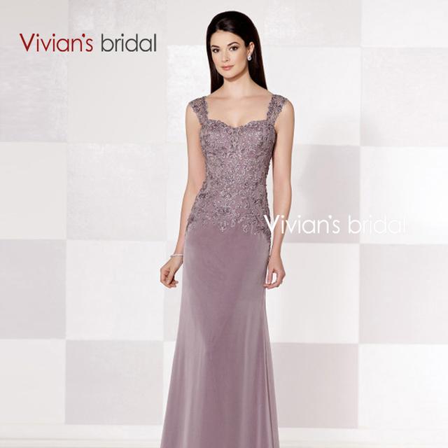 Vivian Nupcial 2015 Elegante Spaghetti Querida Longo Mãe Do Vestido Da Noiva 2015 vestido de festa longo madrinha MR3