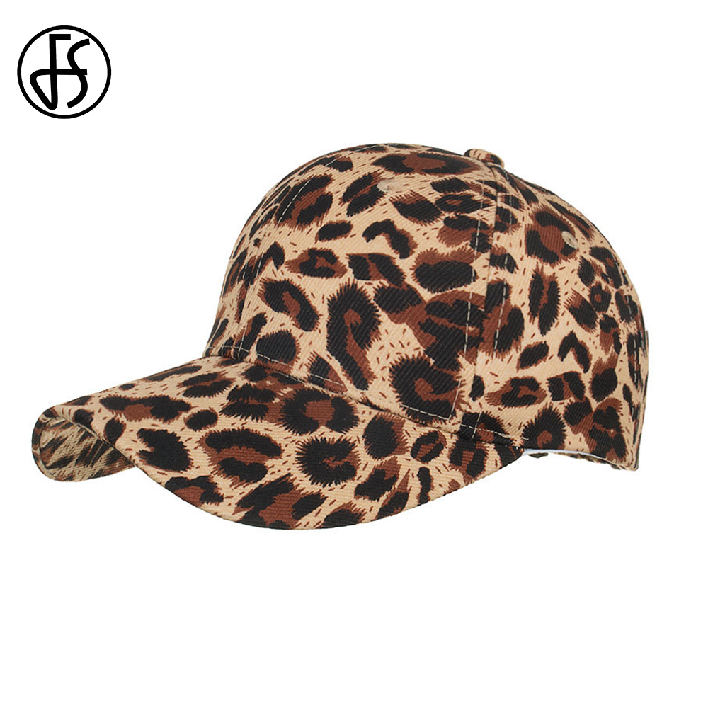 FS Luxury Animal Print Ladies Cap Men Women Leopard Baseball Cap Streetwear Hip Hop Bone Trucker Hat Summer Gorra Animales