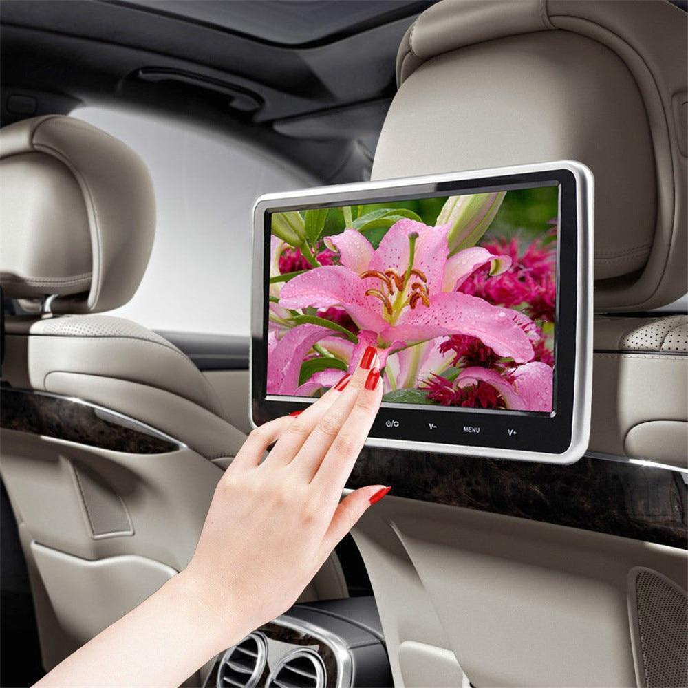 "Car Monitor Multilanguage Car Video Player 10""HD Digital LCD HDMI Car Headrest Monitor DVD/USB/SD Player IR/FM Game Speaker"