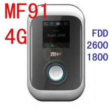 unlocked ZTE MF91 LTE 4g wifi router 100Mbps 4G LTE dongle 3g WiFi Router 3g 4g Mobile miFi Hotspot tdd band 3 7 pk mf93e mf910