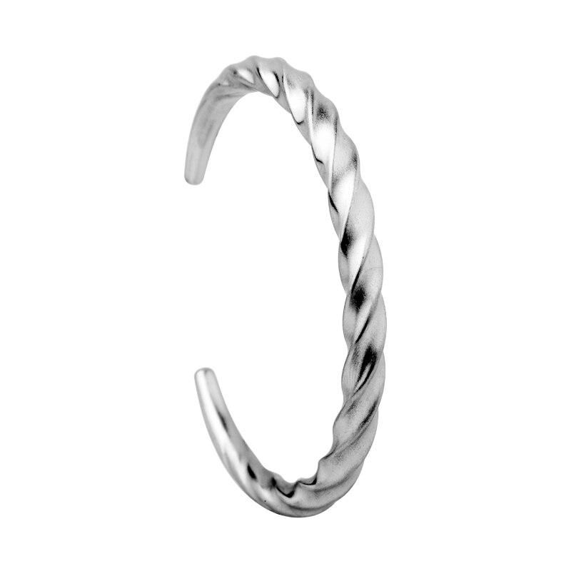 Bracelet torsadé de ligne carrée Viking nordique  1