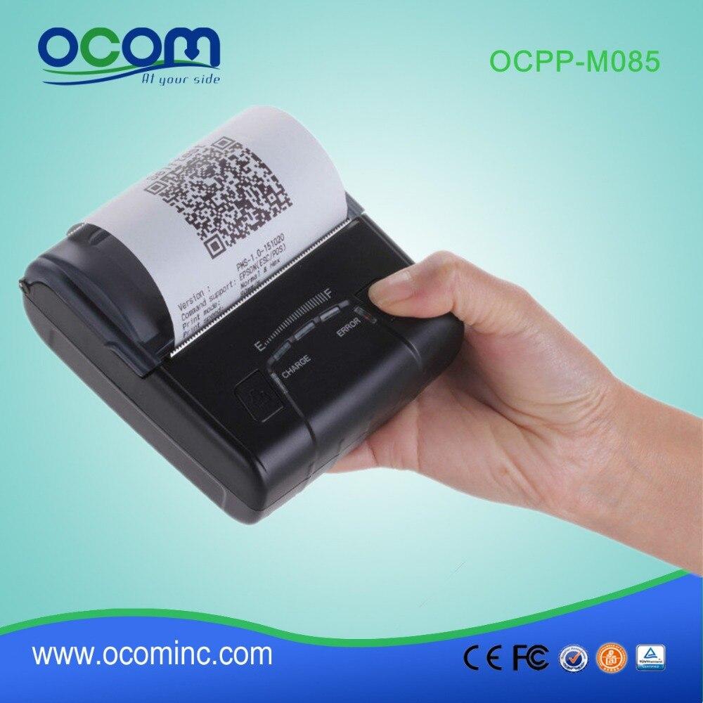 OCPP-M085(USB+BT+Android+IOS): 1.D,2.D Bar Code Printing Mini Bluetooth Thermal Printer Price