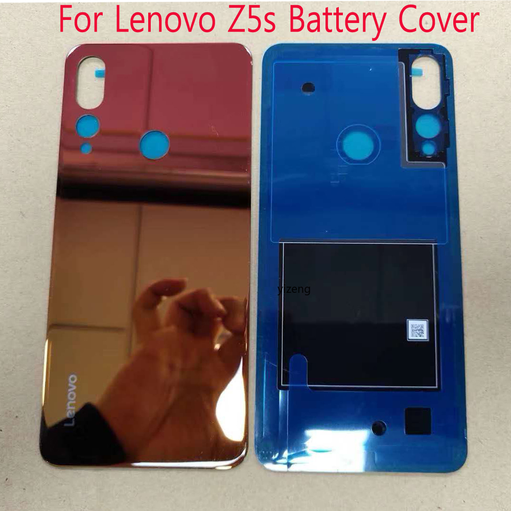 Original Back Housing For Lenovo Z5s L7807 Battery Cover Case  Rear Door Replacement Parts With Adhesive Sticker