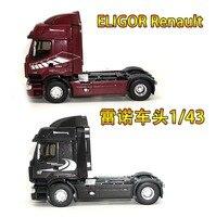 1/43 ELIGOR NOVO Renault PREMIUM 44 45 reboque cabeça caminhão liga modelo de simulação de caminhão do carro Renault Carrinhos de brinquedo e de metal     -