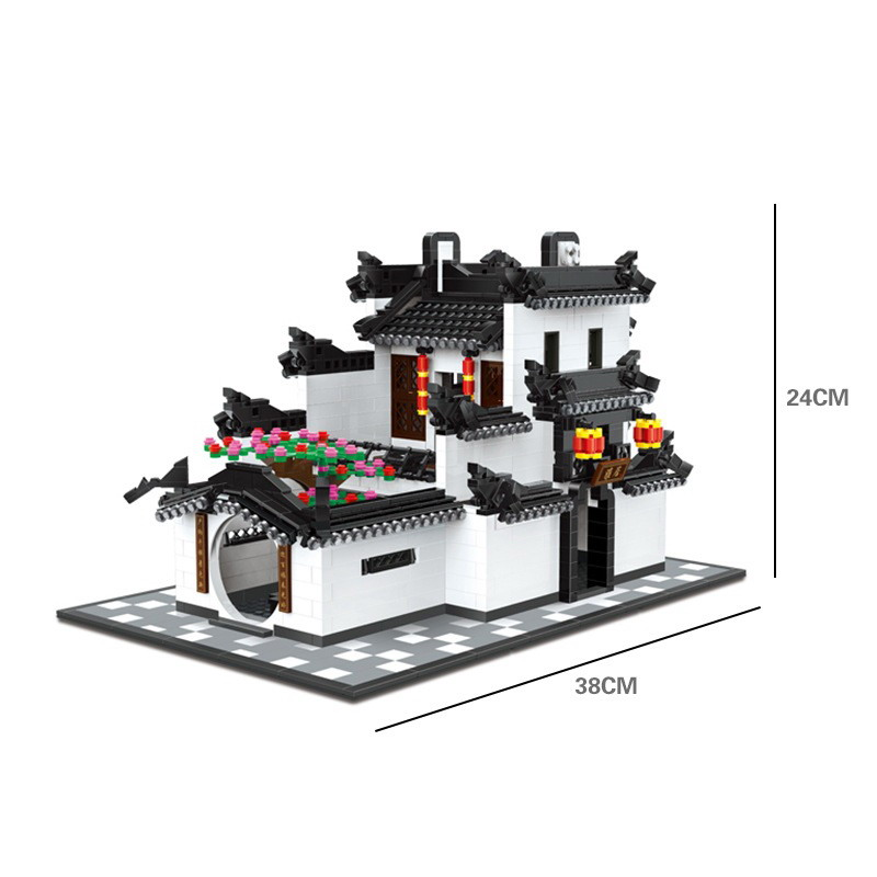 Wange 5310 The China Traditional Architecture Figure Blocks Construction Building Brick Toys For Children Compatible LegoeWange 5310 The China Traditional Architecture Figure Blocks Construction Building Brick Toys For Children Compatible Legoe