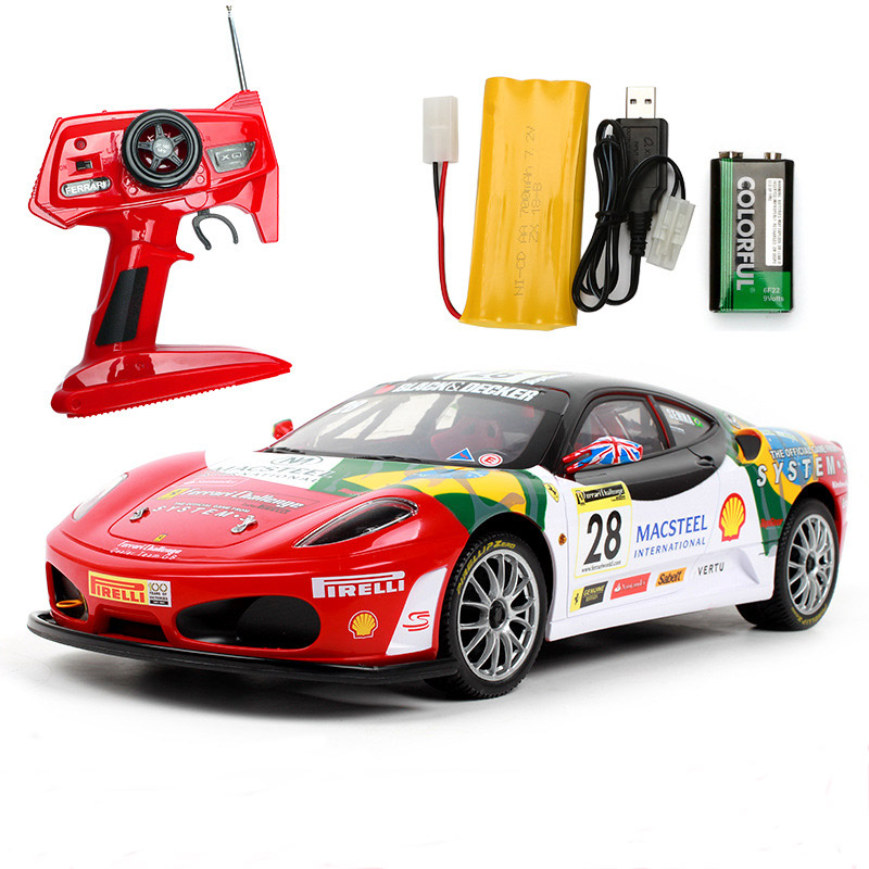 Remote control car for F430 special edition 4WD drift racing champion 2.4G off road Rockstar wireless remote control car-in RC Cars from Toys & Hobbies
