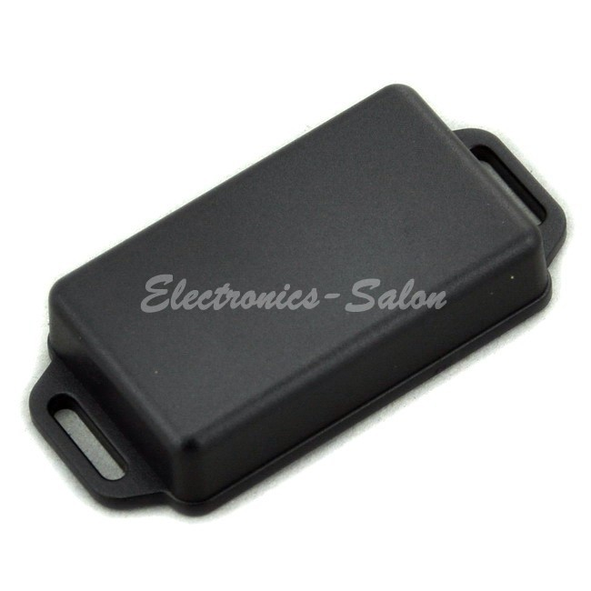 Small Wall-mounting Plastic Enclosure Box Case, Black,61x36x15mm, HIGH QUALITY.