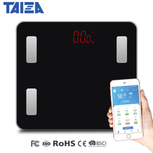 New Original Taiza Weighing Scale Floor Smart Bathroom Scale Smart Bluetooth Bmi Body Fat Smart Digital Scale Weight Balance все цены