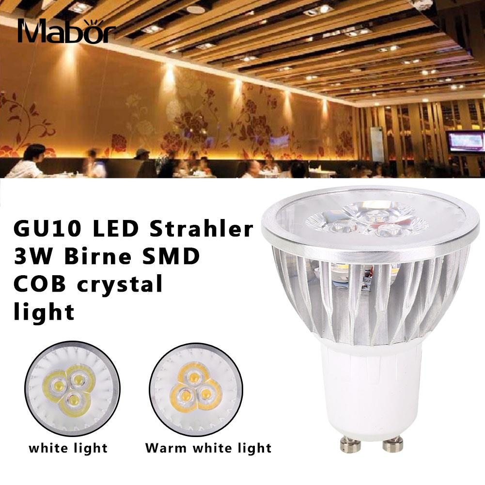 Spotlight Bulb Lighting Fixture LED Bulb Durable 5.5*4.6*4.6cm Long Life Party Supply Indoor Outdoor