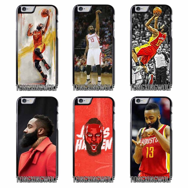b2a84754dd9 JAMES HARDEN BASKETBALL Cover Case For Iphone 4 4s 5 5c 5s se 6 6s 7 8 plus  x xiaomi redmi note oneplus 3 3T 4X 3s